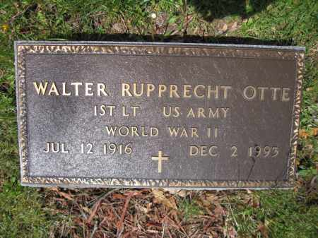 OTTE, WALTER RUPPRECHT - Union County, Ohio | WALTER RUPPRECHT OTTE - Ohio Gravestone Photos