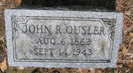 OUSLER, JOHN R. - Union County, Ohio | JOHN R. OUSLER - Ohio Gravestone Photos