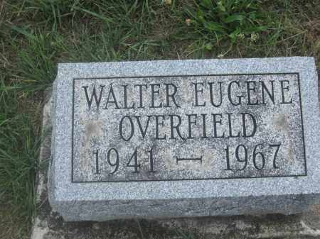 OVERFIELD, WALTER EUGENE - Union County, Ohio | WALTER EUGENE OVERFIELD - Ohio Gravestone Photos