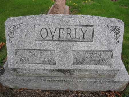 OVERLY, HELEN - Union County, Ohio | HELEN OVERLY - Ohio Gravestone Photos