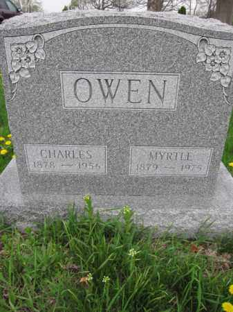 OWEN, MYRTLE - Union County, Ohio | MYRTLE OWEN - Ohio Gravestone Photos