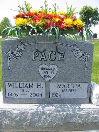 PACE, MARTHA - Union County, Ohio | MARTHA PACE - Ohio Gravestone Photos