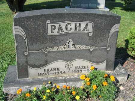 PACHA, HAZEL - Union County, Ohio | HAZEL PACHA - Ohio Gravestone Photos