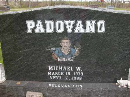 PADOVANO, MICHAEL W. - Union County, Ohio | MICHAEL W. PADOVANO - Ohio Gravestone Photos