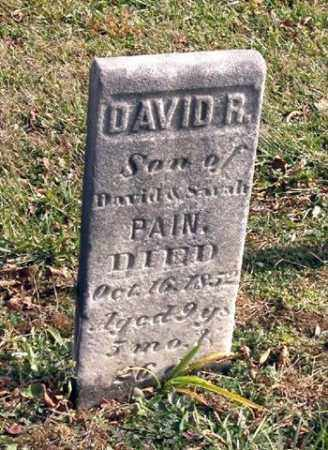 PAIN, DAVID R. - Union County, Ohio | DAVID R. PAIN - Ohio Gravestone Photos