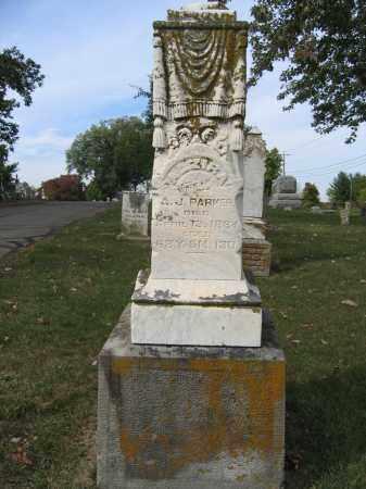 PAKER, ALZIRA - Union County, Ohio | ALZIRA PAKER - Ohio Gravestone Photos
