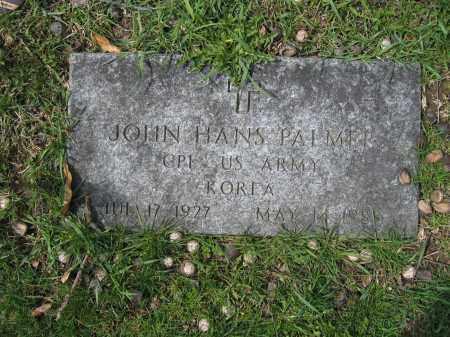 PALMER, JOHN HANS - Union County, Ohio | JOHN HANS PALMER - Ohio Gravestone Photos