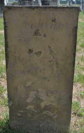 PARIS, INFANT SON - Union County, Ohio | INFANT SON PARIS - Ohio Gravestone Photos