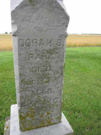 PARK, DORAH B. - Union County, Ohio | DORAH B. PARK - Ohio Gravestone Photos