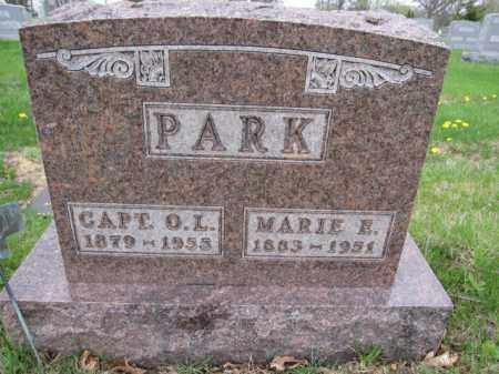 PARK, MRIE E. MODER - Union County, Ohio | MRIE E. MODER PARK - Ohio Gravestone Photos