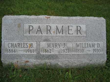 PARMER, WILLIAM D. - Union County, Ohio | WILLIAM D. PARMER - Ohio Gravestone Photos