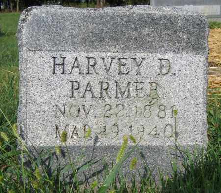 PARMER, HARVEY D. - Union County, Ohio | HARVEY D. PARMER - Ohio Gravestone Photos