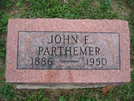 PARTHEMER, JOHN E. - Union County, Ohio | JOHN E. PARTHEMER - Ohio Gravestone Photos