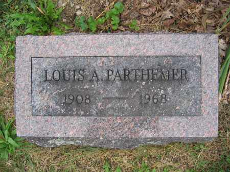 PARTHEMER, LOUIS A. - Union County, Ohio | LOUIS A. PARTHEMER - Ohio Gravestone Photos