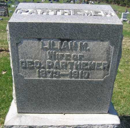 PARTHEMERE, LILLIAN M. - Union County, Ohio | LILLIAN M. PARTHEMERE - Ohio Gravestone Photos