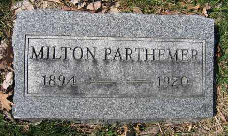 PARTHEMERE, MILTON - Union County, Ohio | MILTON PARTHEMERE - Ohio Gravestone Photos