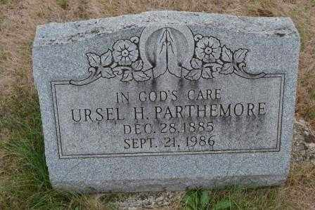 PARTHEMORE, URSEL H. - Union County, Ohio | URSEL H. PARTHEMORE - Ohio Gravestone Photos