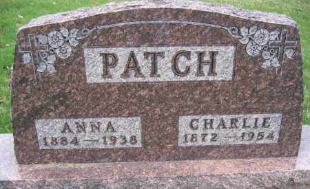 PATCH, CHARLIE - Union County, Ohio | CHARLIE PATCH - Ohio Gravestone Photos