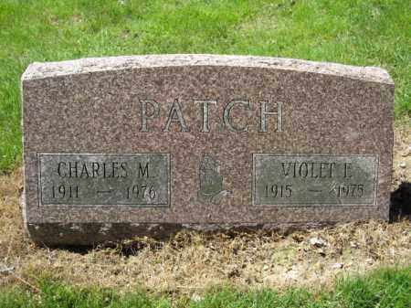 PATCH, VIOLET E. - Union County, Ohio | VIOLET E. PATCH - Ohio Gravestone Photos