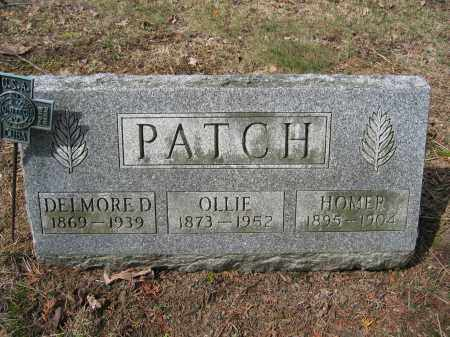PATCH, DELMORE D. - Union County, Ohio | DELMORE D. PATCH - Ohio Gravestone Photos