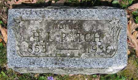 PATCH, H. L. - Union County, Ohio | H. L. PATCH - Ohio Gravestone Photos