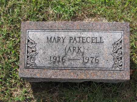 PATECELL, MARY - Union County, Ohio | MARY PATECELL - Ohio Gravestone Photos