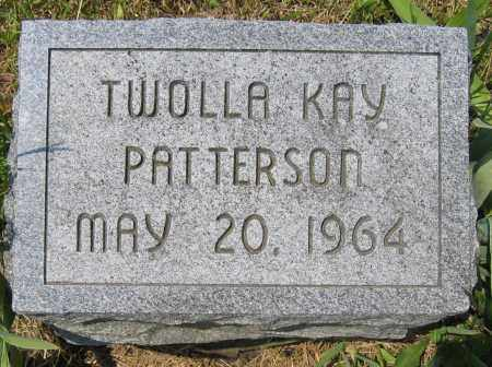PATTERSON, TWOLLA KAY - Union County, Ohio   TWOLLA KAY PATTERSON - Ohio Gravestone Photos