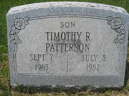 PATTERSON, TIMOTHY R. - Union County, Ohio | TIMOTHY R. PATTERSON - Ohio Gravestone Photos