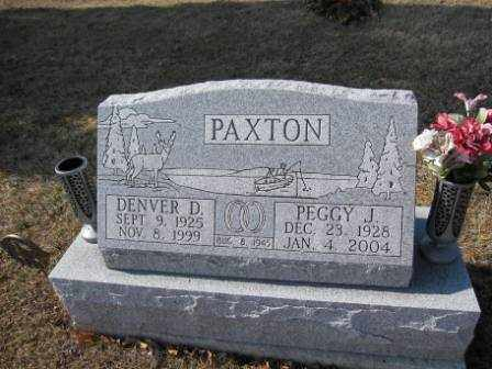 PAXTON, DENVER D. - Union County, Ohio | DENVER D. PAXTON - Ohio Gravestone Photos