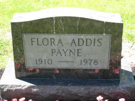 PAYNE, FLORA ADDIS - Union County, Ohio | FLORA ADDIS PAYNE - Ohio Gravestone Photos