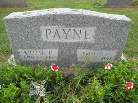 PAYNE, WILLIAM H. - Union County, Ohio | WILLIAM H. PAYNE - Ohio Gravestone Photos