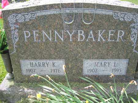 PENNYBAKER, MARY L. - Union County, Ohio | MARY L. PENNYBAKER - Ohio Gravestone Photos