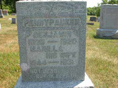 PENNYPACKER, BENJAMIN - Union County, Ohio | BENJAMIN PENNYPACKER - Ohio Gravestone Photos
