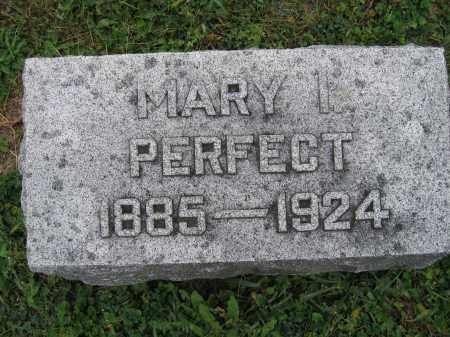 PERFECT, MARY I. - Union County, Ohio | MARY I. PERFECT - Ohio Gravestone Photos