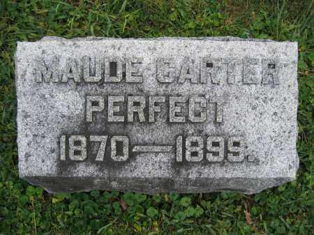 PERFECT, MAUDE CARTER - Union County, Ohio | MAUDE CARTER PERFECT - Ohio Gravestone Photos