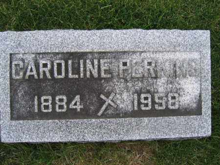 PERKINS, CAROLINE - Union County, Ohio | CAROLINE PERKINS - Ohio Gravestone Photos