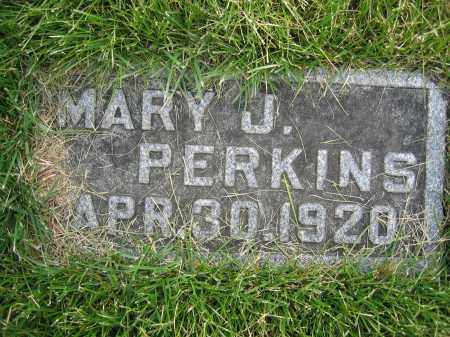 PERKINS, MARY J - Union County, Ohio | MARY J PERKINS - Ohio Gravestone Photos