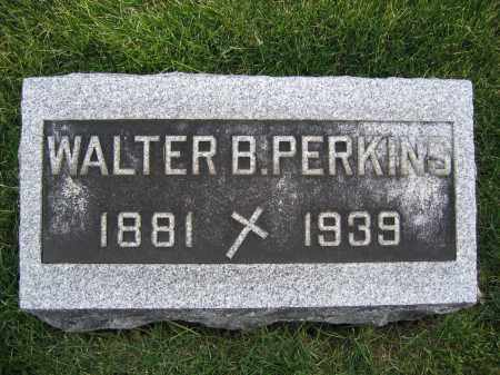 PERKINS, WALTER B. - Union County, Ohio | WALTER B. PERKINS - Ohio Gravestone Photos