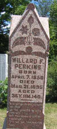 PERKINS, WILLARD F. - Union County, Ohio | WILLARD F. PERKINS - Ohio Gravestone Photos