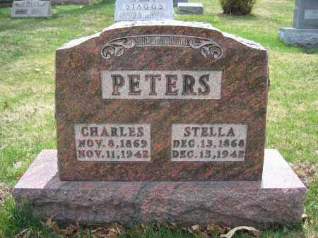 PETERS, STELLA - Union County, Ohio | STELLA PETERS - Ohio Gravestone Photos