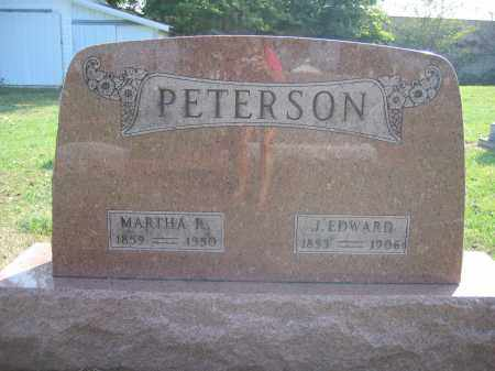 PETERSON, MARTHA R. - Union County, Ohio | MARTHA R. PETERSON - Ohio Gravestone Photos