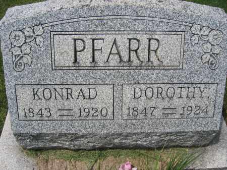 PFARR, DOROTHY - Union County, Ohio | DOROTHY PFARR - Ohio Gravestone Photos