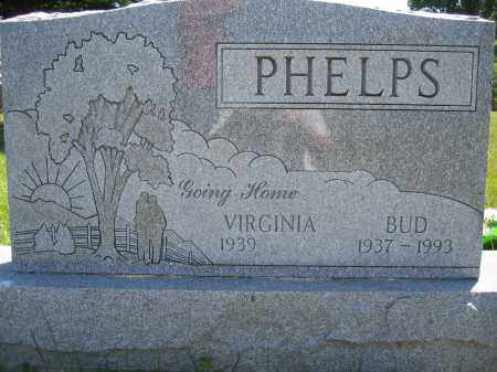 PHELPS, BUD - Union County, Ohio | BUD PHELPS - Ohio Gravestone Photos