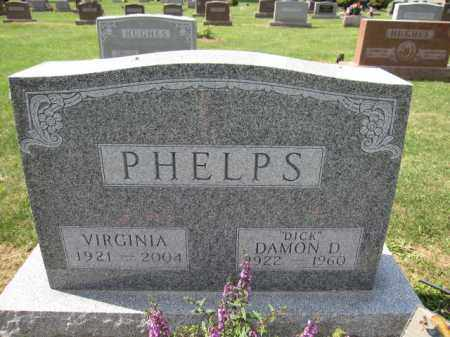 PHELPS, VIRGINIA - Union County, Ohio | VIRGINIA PHELPS - Ohio Gravestone Photos