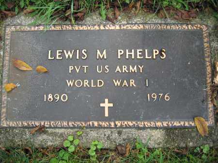 PHELPS, LEWIS M. - Union County, Ohio | LEWIS M. PHELPS - Ohio Gravestone Photos