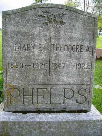 PHELPS, MARY E. - Union County, Ohio | MARY E. PHELPS - Ohio Gravestone Photos