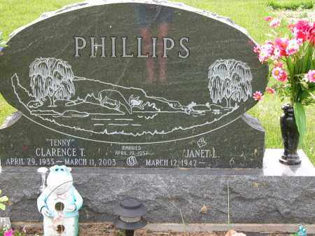 PHILLIPS, CLARENCE T. - Union County, Ohio | CLARENCE T. PHILLIPS - Ohio Gravestone Photos