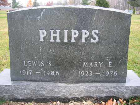 PHIPPS, LEWIS S. - Union County, Ohio | LEWIS S. PHIPPS - Ohio Gravestone Photos
