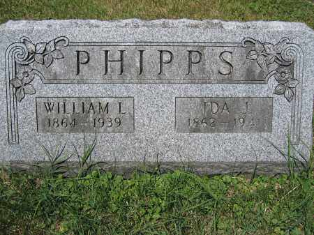 PHIPPS, IDA J. - Union County, Ohio | IDA J. PHIPPS - Ohio Gravestone Photos