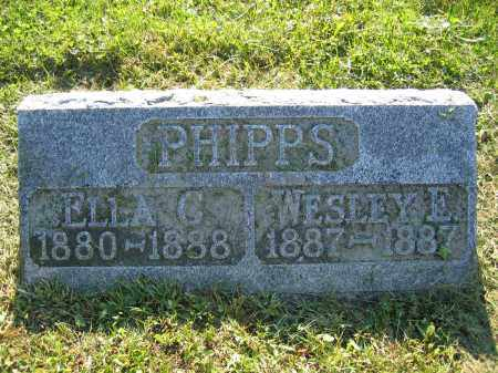 PHIPPS, WESLEY E. - Union County, Ohio | WESLEY E. PHIPPS - Ohio Gravestone Photos